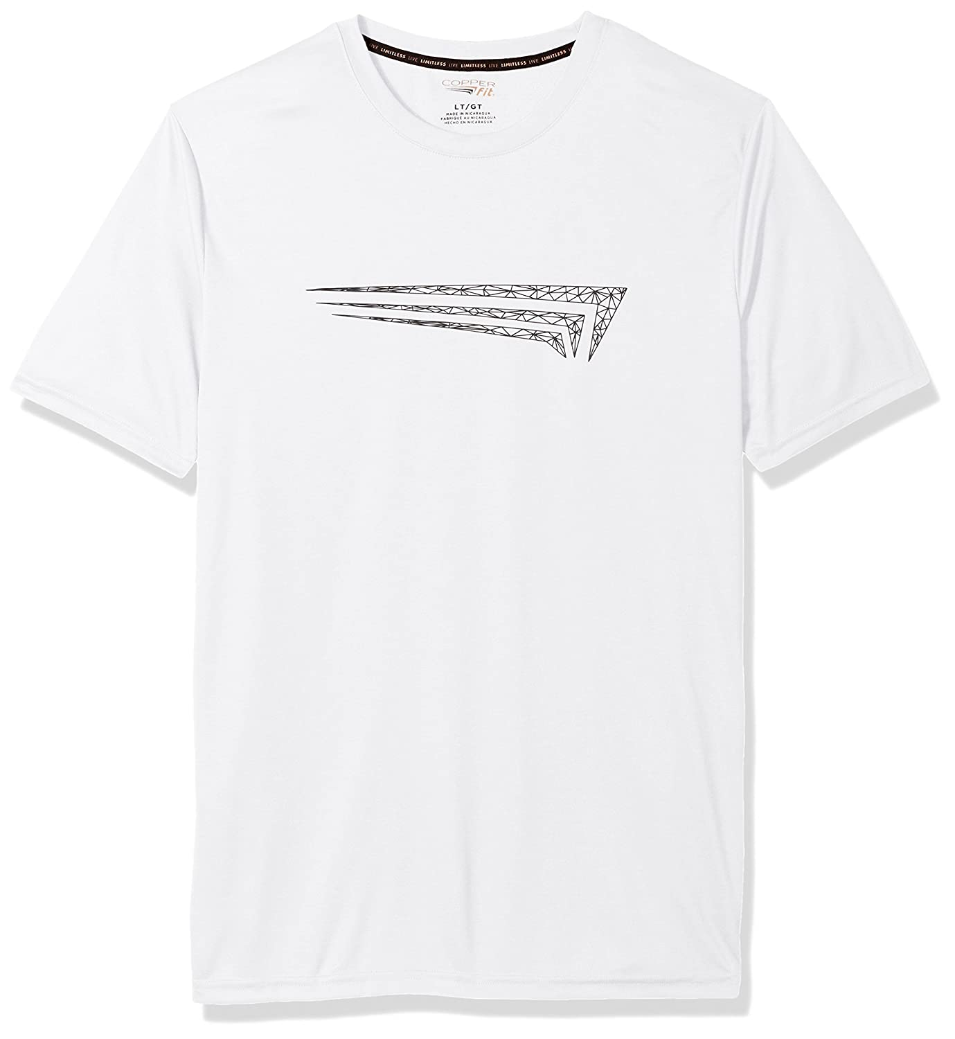 Copper Fit Mens Short Sleeve Graphic T-Shirt