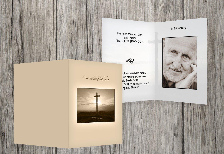 marcas en línea venta barata Beige Beige Beige 70 Karten sterbe imágenes Cruz, beige, 70 Karten  garantizado