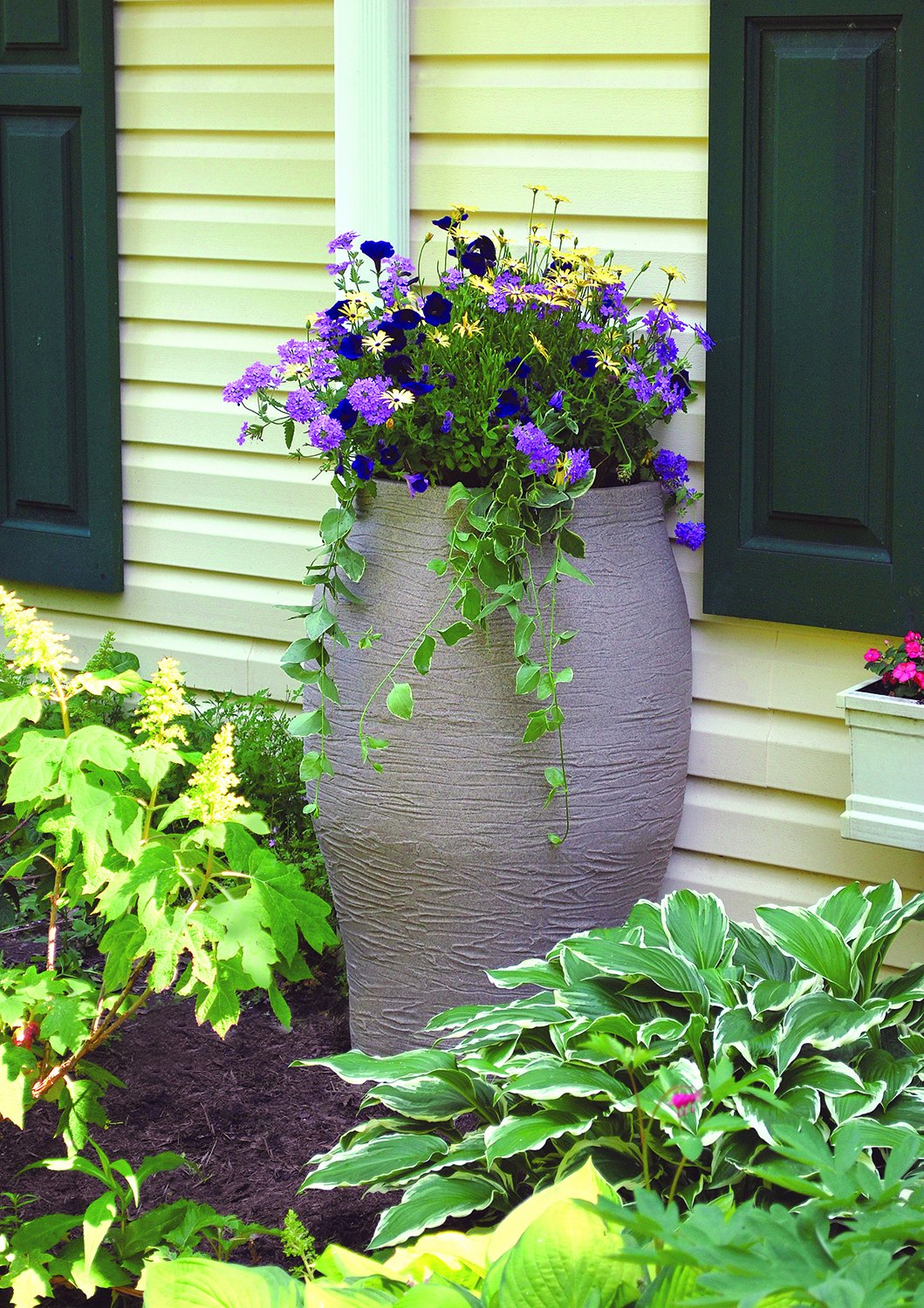 Beautiful Rain Barrel Ideas