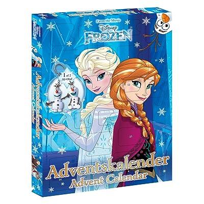 Craze Frozen, calendrier de l'avent Calendrier de Walt Disney la Reine des Neiges