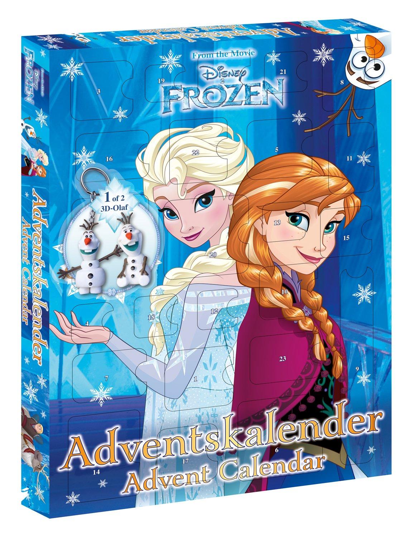 Craze Frozen, calendrier de l'avent Calendrier de Walt Disney la Reine des Neiges 54094