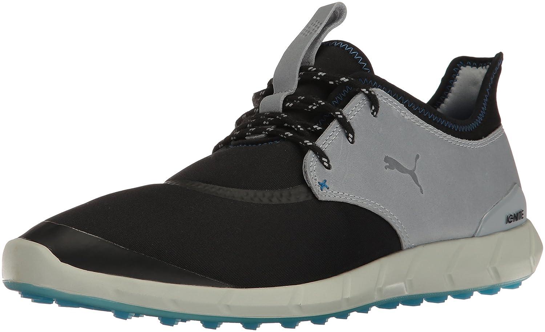 Puma Mens Ignite Spikeless Sport Golf Shoe  9.5 D(M) US|Puma Black-quarry-french Blue