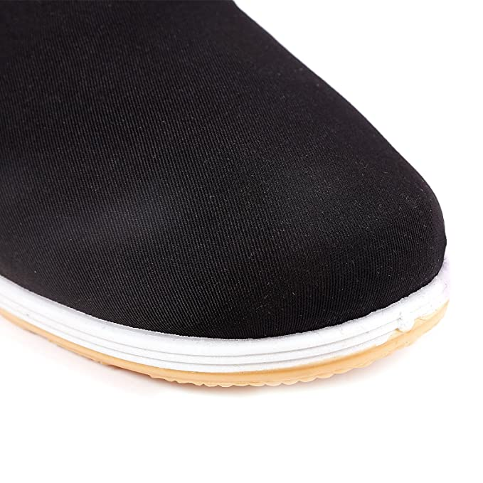 Amazon.com : surepromise Kung Fu Shoes Slippers Dancing Tai Chi Shoes Rubber Sole (Mens EU 42/US 8.5) : Sports & Outdoors