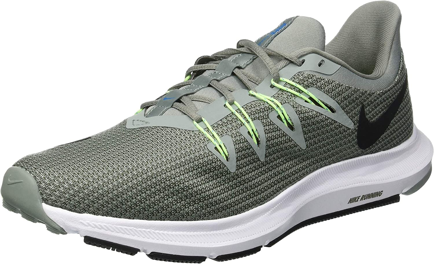 Nike Quest, Zapatillas de Running para Hombre, Verde (Mica Green/Black/Twilight Mars 300), 43 EU: Amazon.es: Zapatos y complementos