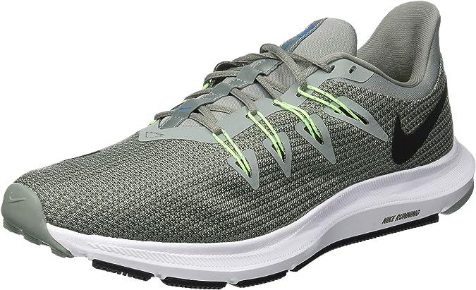 Nike Quest, Zapatillas de Running para Hombre, Verde (Mica Green/Black/Twilight Mars 300), 42.5 EU: Amazon.es: Zapatos y complementos