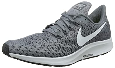 NIKE Mens Air Zoom Pegasus 35 Running Shoe, Cool Grey/Pure Platinum-Anthracite