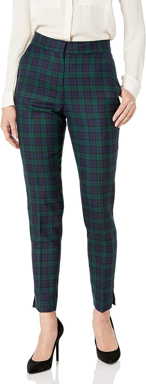 60s – 70s Pants, Jeans, Hippie, Bell Bottoms, Jumpsuits Pendleton Womens Wool Plaid Ankle Pants $176.08 AT vintagedancer.com