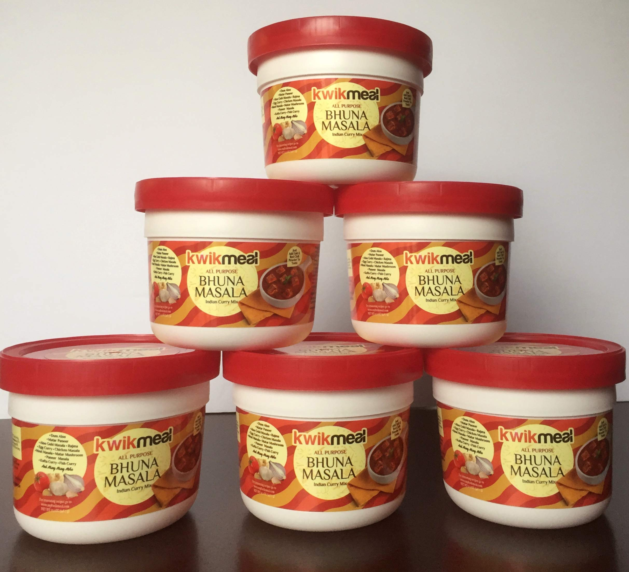 KwikMeal All Purpose Bhuna Masala (6 Pack). $33.19. Each Pack 348.7 gms. Unit Price: $5.53. BEST VALUE &