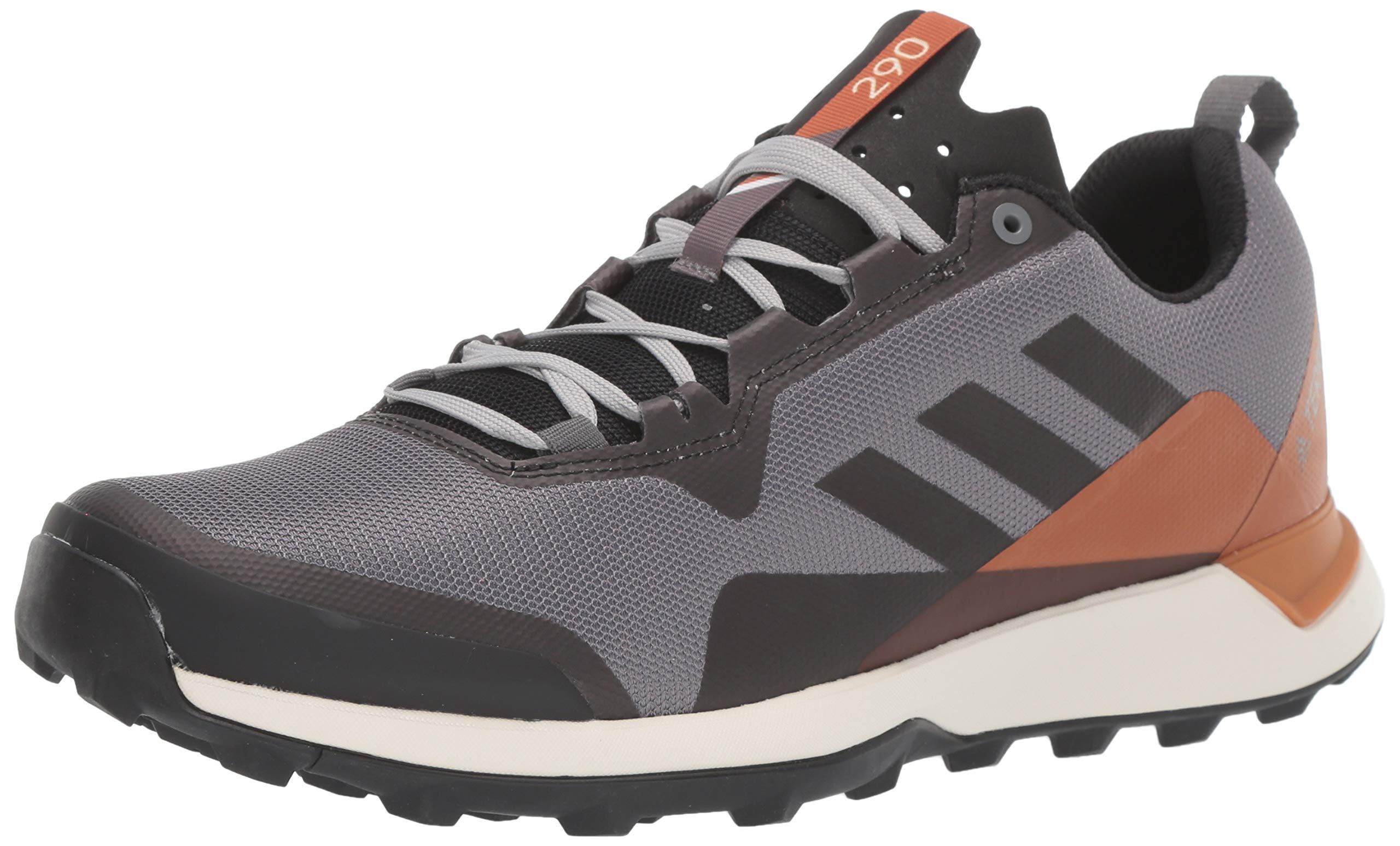 adidas outdoor Women's Terrex CMTK Trail Running Shoe, Grey Four/Black/TECH Copper, 10 D US by adidas outdoor