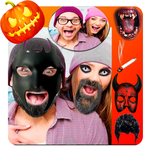 Halloween photo editor pro]()