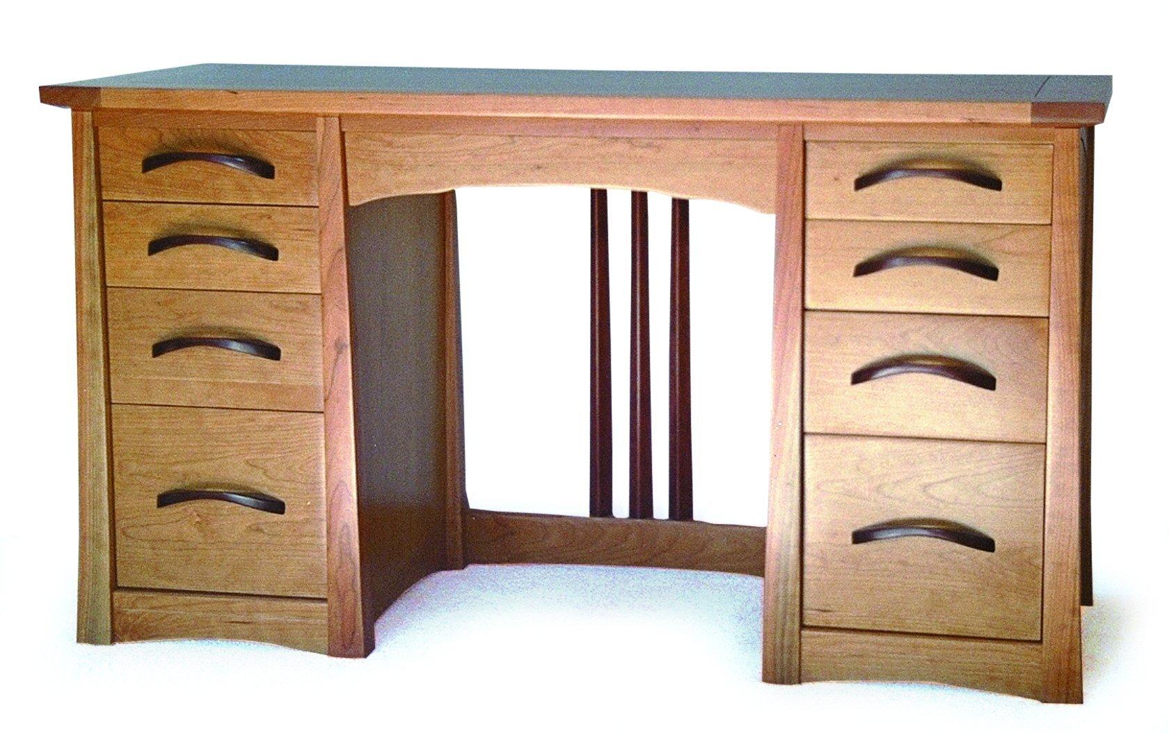 Build-Your-Own Ladies Writing Desk Plan – American Furniture Design