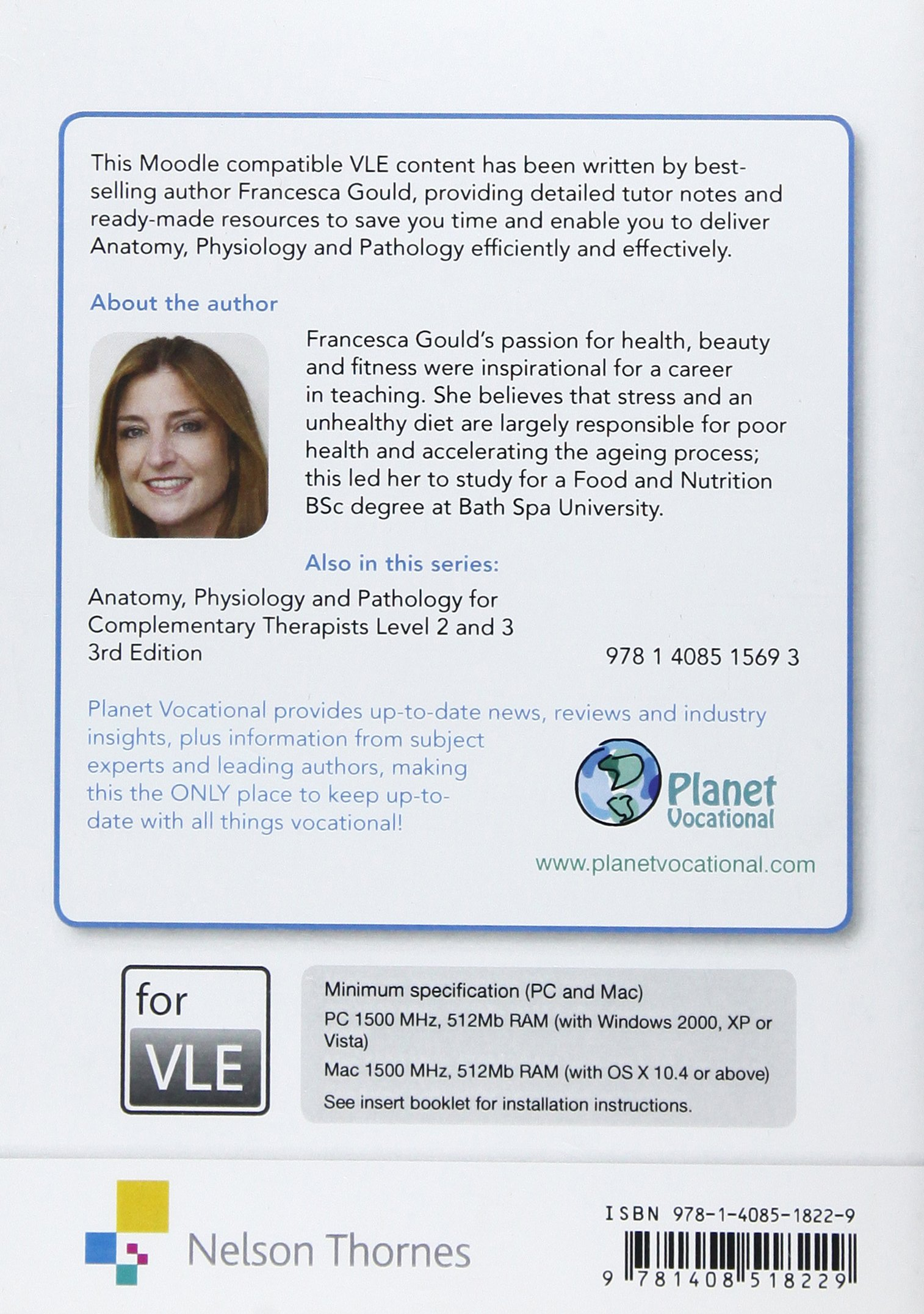 Anatomy, Physiology & Pathology Complementary Therapists Level 2/3 ...