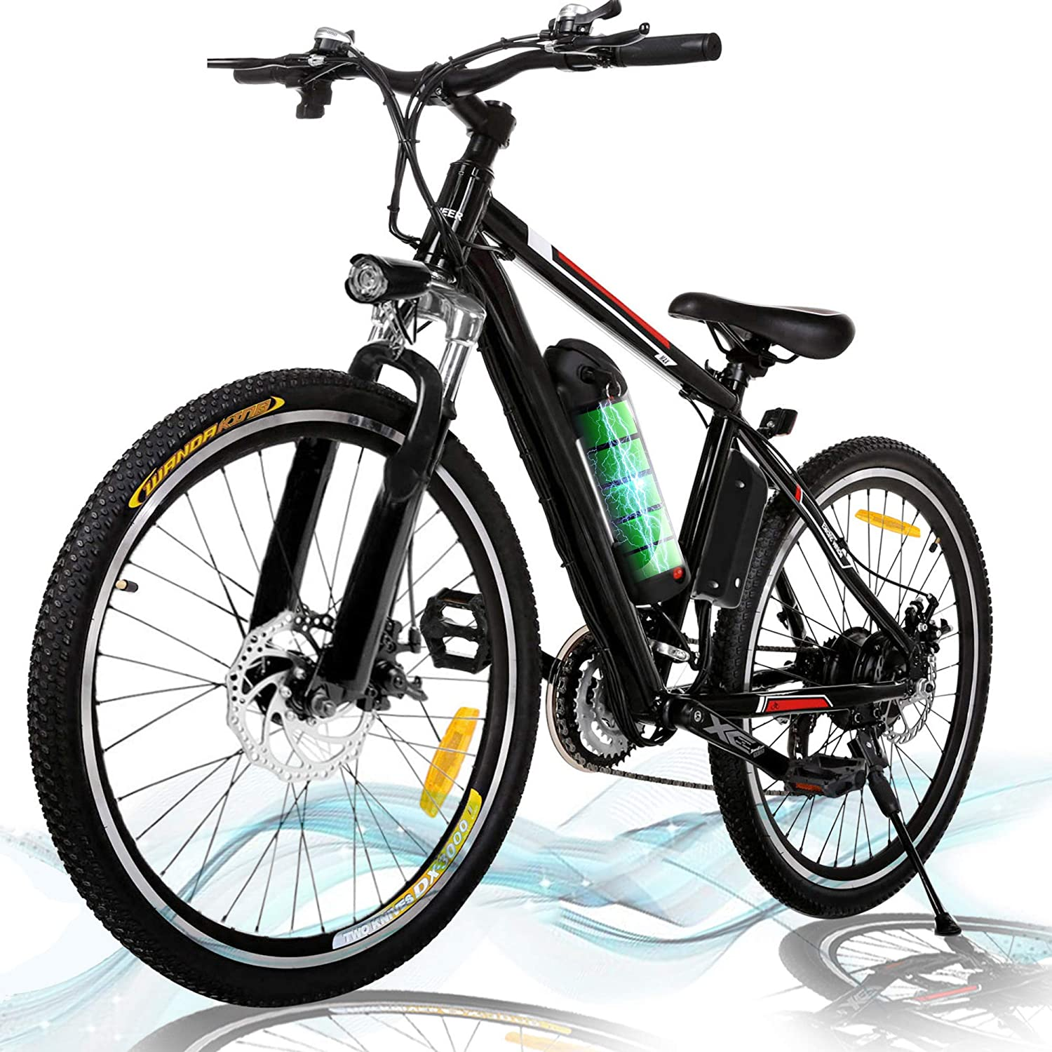 50% Off Coupon – 26 inch Electric Mountain Bike 21 Speed