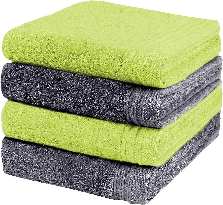 Weidemans Premium Towel Set of 4 Exclusive Hand Towels 18