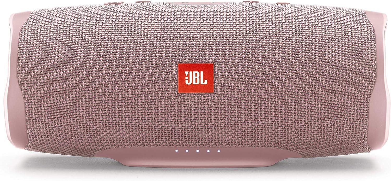 JBL Charge 4 – Altavoz inalámbrico portátil con Bluetooth – Parlante resistente al agua (IPX7) – JBL Connect+ – hasta 20h de reproducción con sonido de alta fidelidad – Rosa