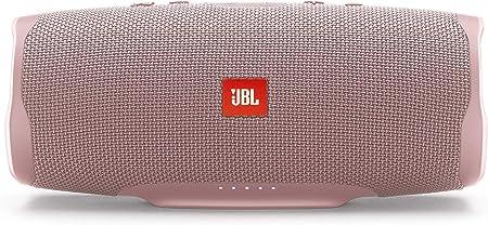 Oferta amazon: JBL Charge 4 - Altavoz inalámbrico portátil con Bluetooth, parlante resistente al agua (IPX7), JBL Connect+, hasta 20 h de reproducción con sonido de alta fidelidad, rosa