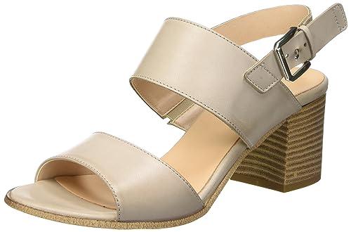 Bata 6642205, Sandalias para Mujer, Gris (Grigio), 38 EU: Amazon.es: Zapatos y complementos