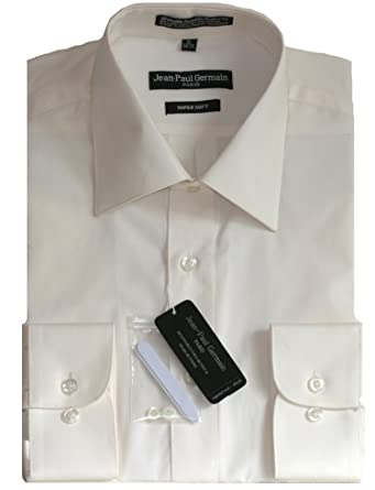Off-White (Bone) Dress Shirt at Amazon Men's Clothing store: Mens ...