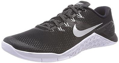 watch 802a3 8c9f8 Nike Womens Metcon 4 Training Shoe (5 B(M) US, Black