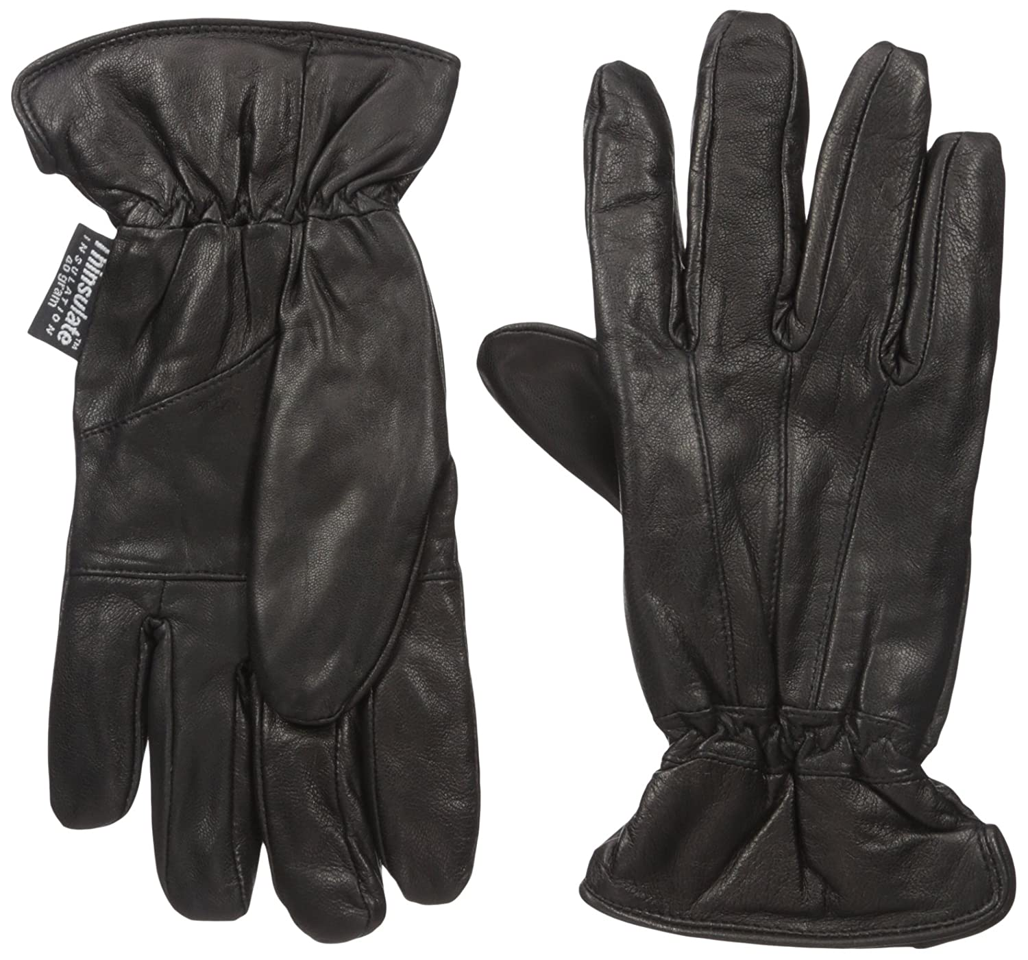 Leather driving gloves bulk - Dorfman Pacific Womens Lambskin Leather Thinsulate Lined Driving Gloves Small Medium Black At Amazon Women S Clothing Store Cold Weather Gloves