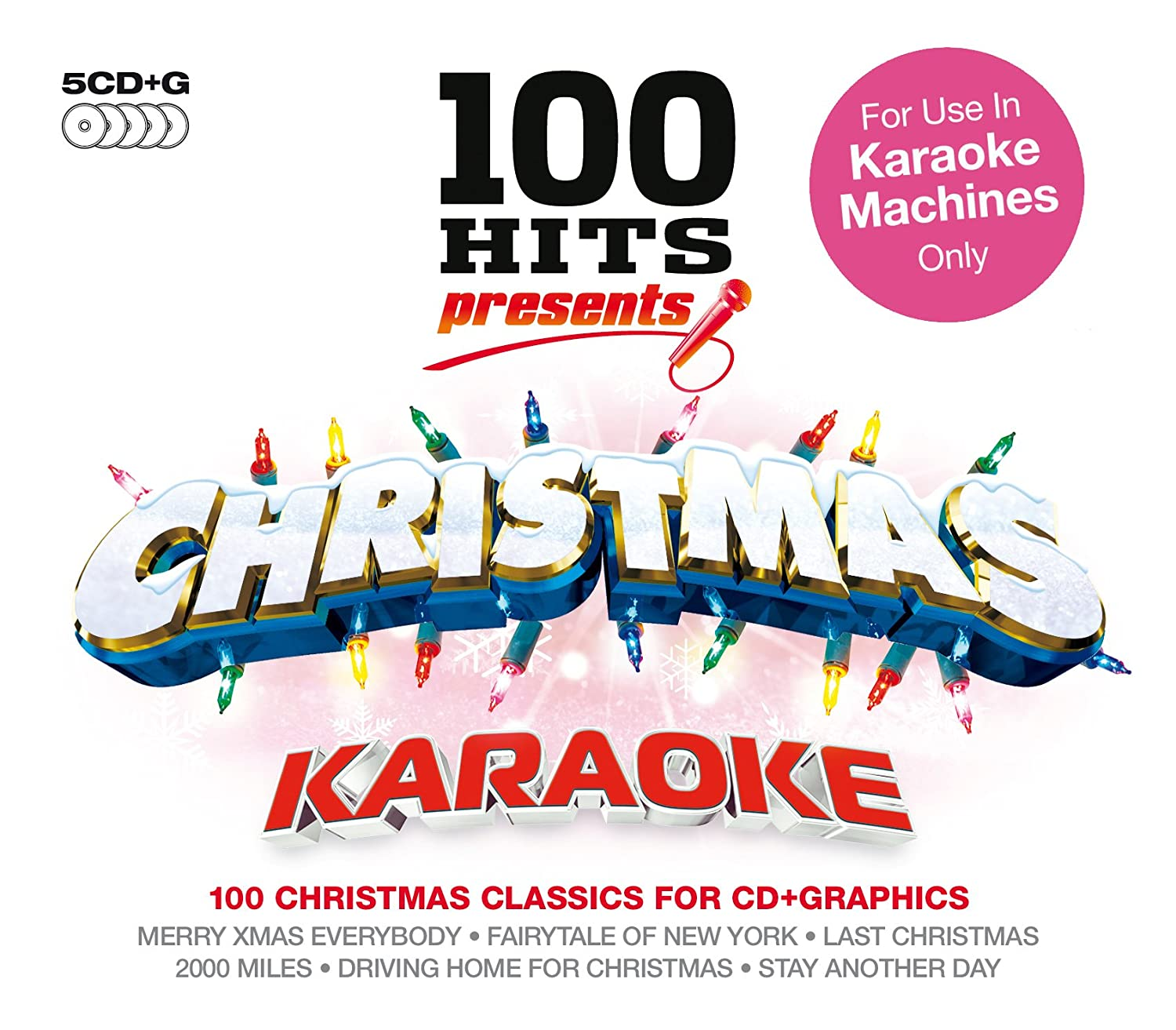 100 Hits Presents - Christmas Karaoke: Amazon.co.uk: Music
