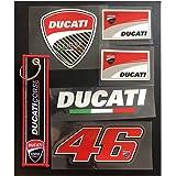 Amazon.com: Ducati Moto vinilo calcomanía sticker|cars ...