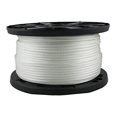 1/4 inch KnotRite 100% Nylon Rope - 500 Foot Spool | Industrial Grade - High UV and Abrasion Resistance