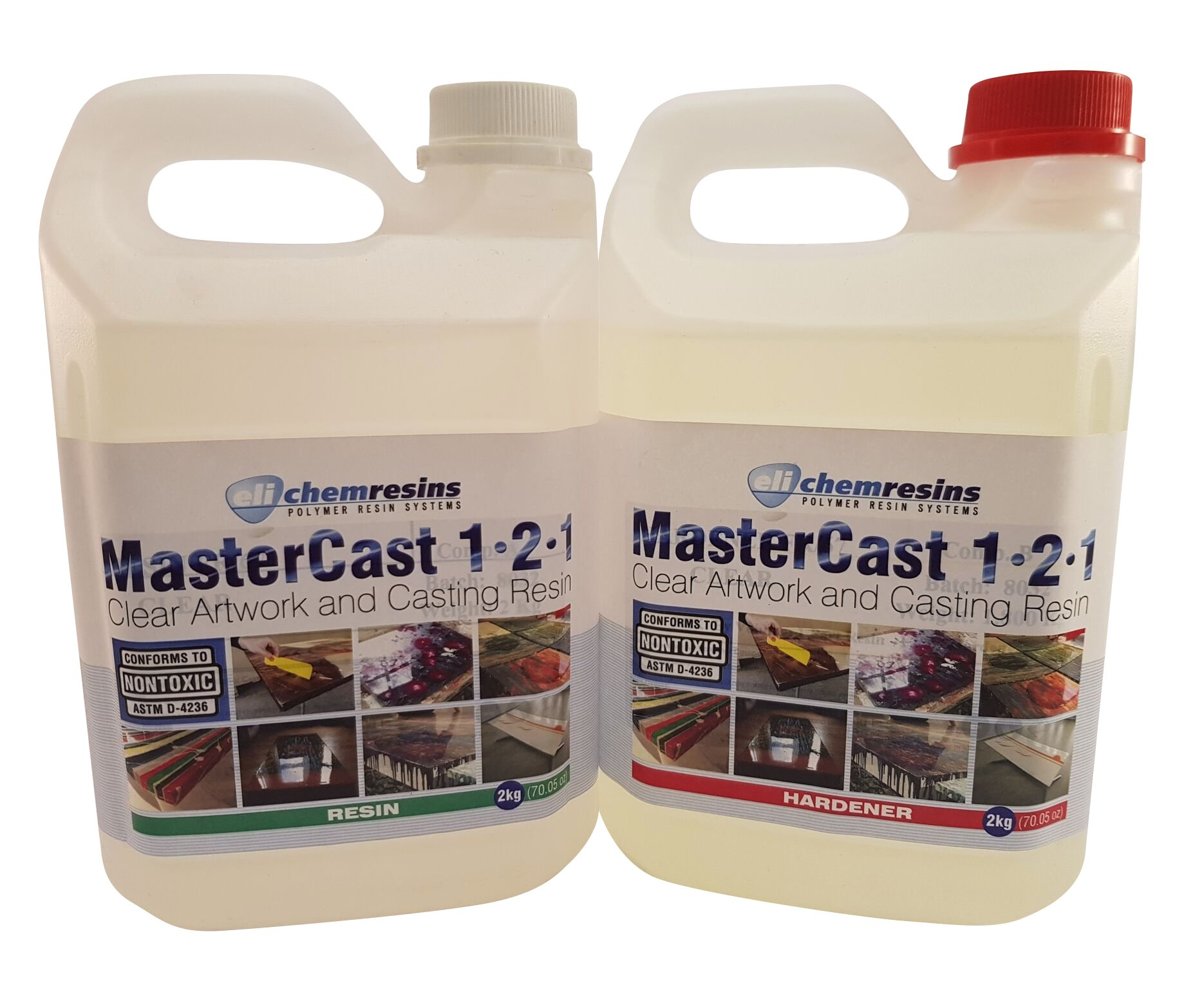 MasterCast artwork resin 141 ounce kit