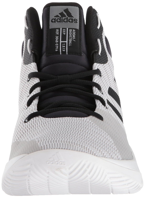 new products 57b32 7add9 Amazon.com  adidas Mens Pro Elevate 2018 Basketball Shoe  Ba