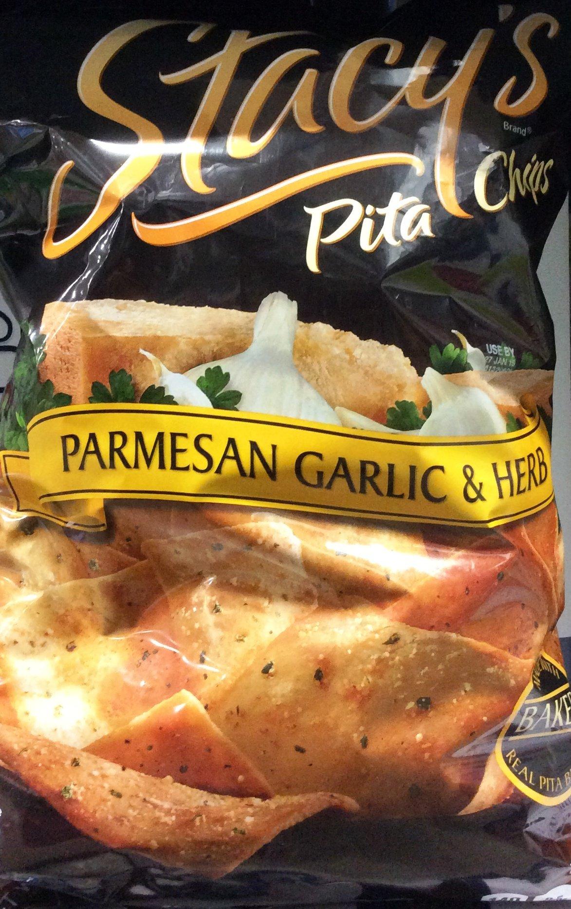 Stacys Parmensan Garlic and Herb Pita Chips, 22 Oz