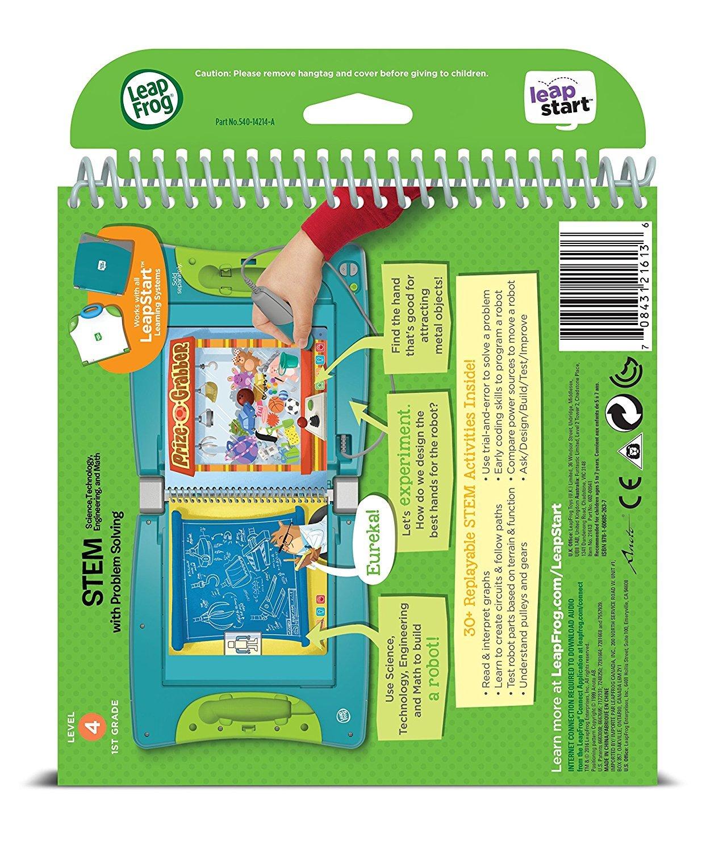 Amazoncom Leapfrog Leapstart 1st Grade Activity Book Stem