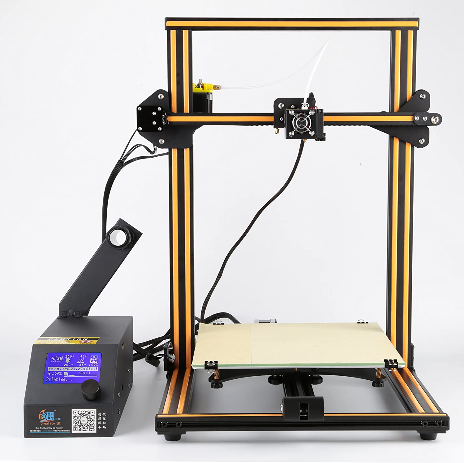 Creality Cr 10 3d Printer Aluminum With Heated Bed High Camt Launching Firstever For Printed Circuit Board Precisio Free Testing Filament Tool Set Industrial Scientific