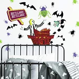 RoomMates Beetlejuice Peel and Stick Wall Decals
