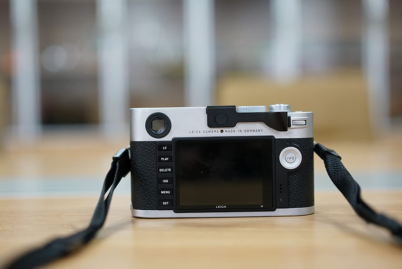 Diseño Para Leica M//M-P//M240//M246//M262//M-D Cámara Negro Metal Thumbs Up Mano Agarre