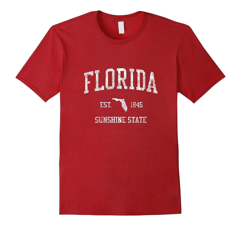 Retro Florida T Shirt Vintage Sports Tee Design Fl Sunflowershirt