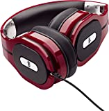 PSB M4U 1 High Performance Over-Ear Headphones (Red)