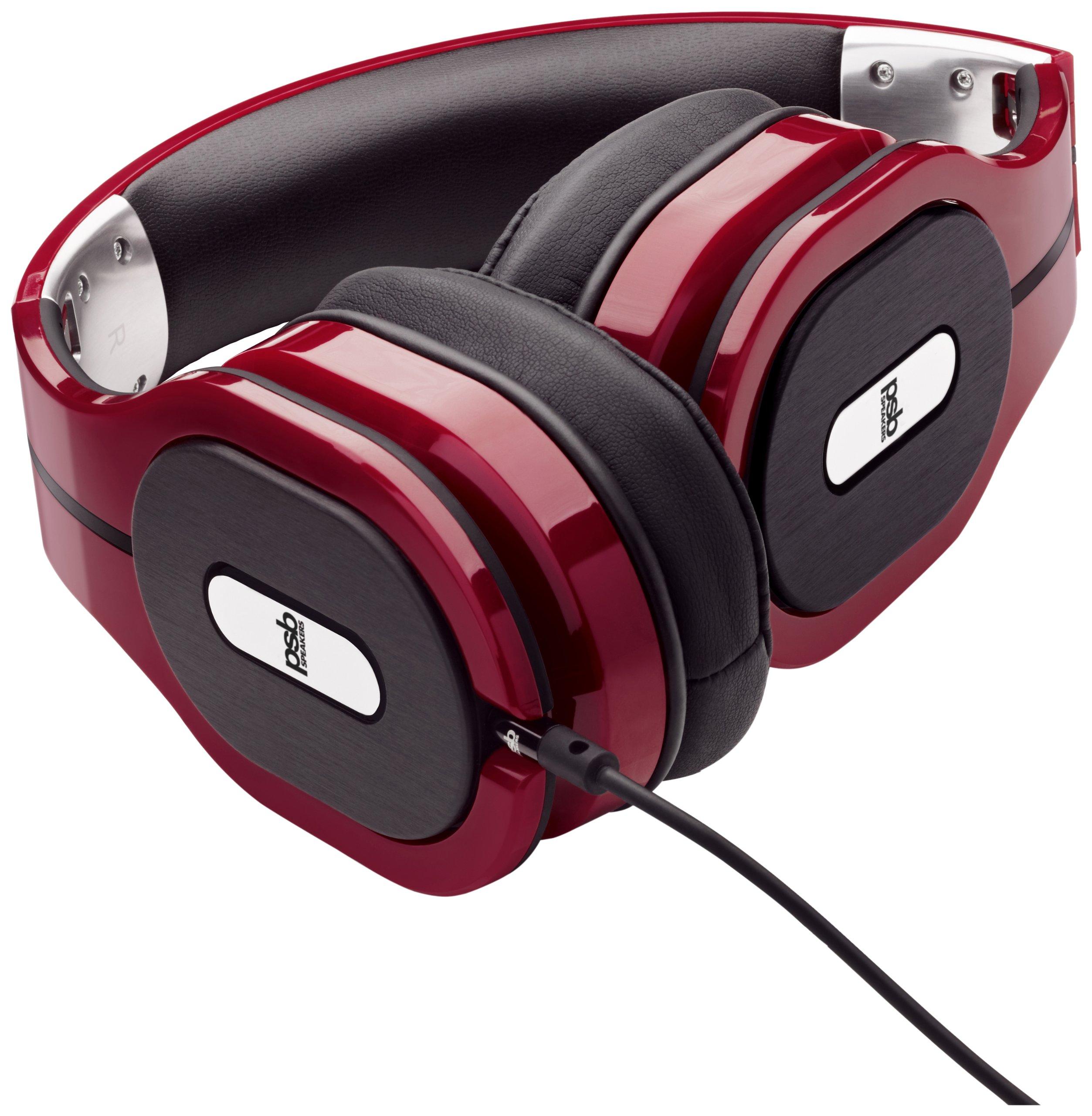 PSB M4U-1 RED M4U 1 High Performance Over-Ear Headphones Red