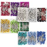 1200 Pieces Sewing Pins with Colored Ball Head, 1.5 inch Straight Quilting Pin (12 Colors)