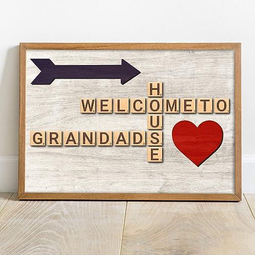 Regalos personalizados para abuelo, abuelo, papá, joven, día ...