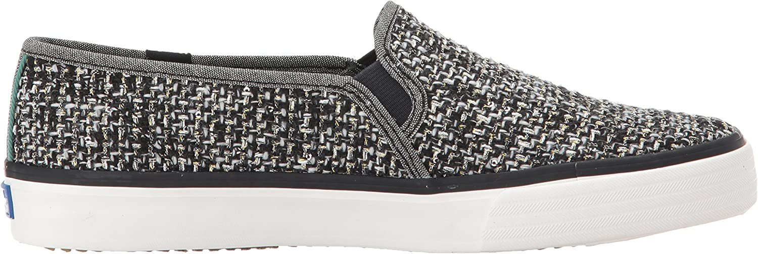Keds Womens Double Decker Sequin Knit Fashion Sneaker