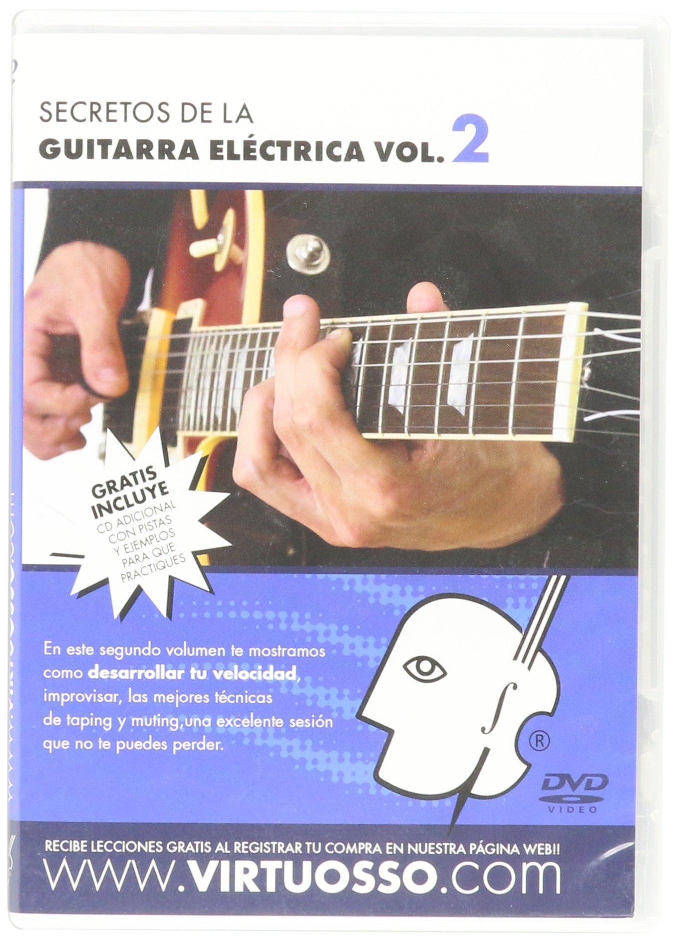 Virtuosso Electric Guitar Method Vol.2 (Curso De Guitarra Eléctrica Vol.2) SPANISH ONLY by Virtuosso