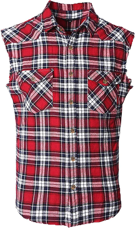 NUTEXROL Camicia Uomo Camicia Senza Maniche per Uomo varii Stili Ogni Stile ha 6 Dimensioni