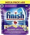 Finish Quantum Max Pastiglie Lavastoviglie, Limone, 60 Tabs