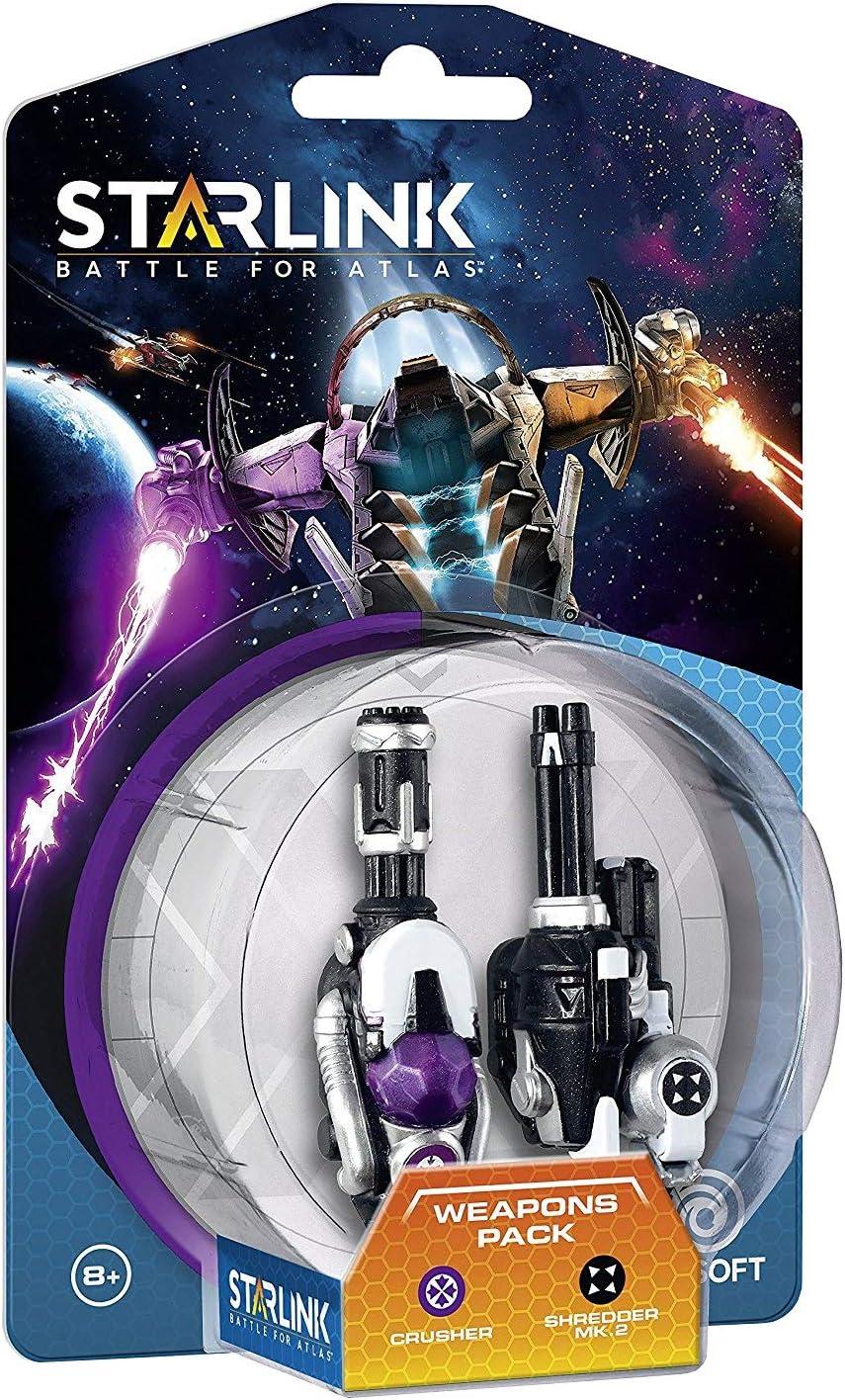 Starlink - Battle For Atlas, Pack De Armas Crusher + Shredder