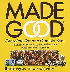 Madegood Bar Granola Chocolate Banana, 5.09 oz