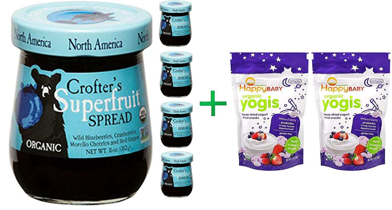 Amazon.com: Crofter\'s Organic, Organic, Superfruit Spread, North ...