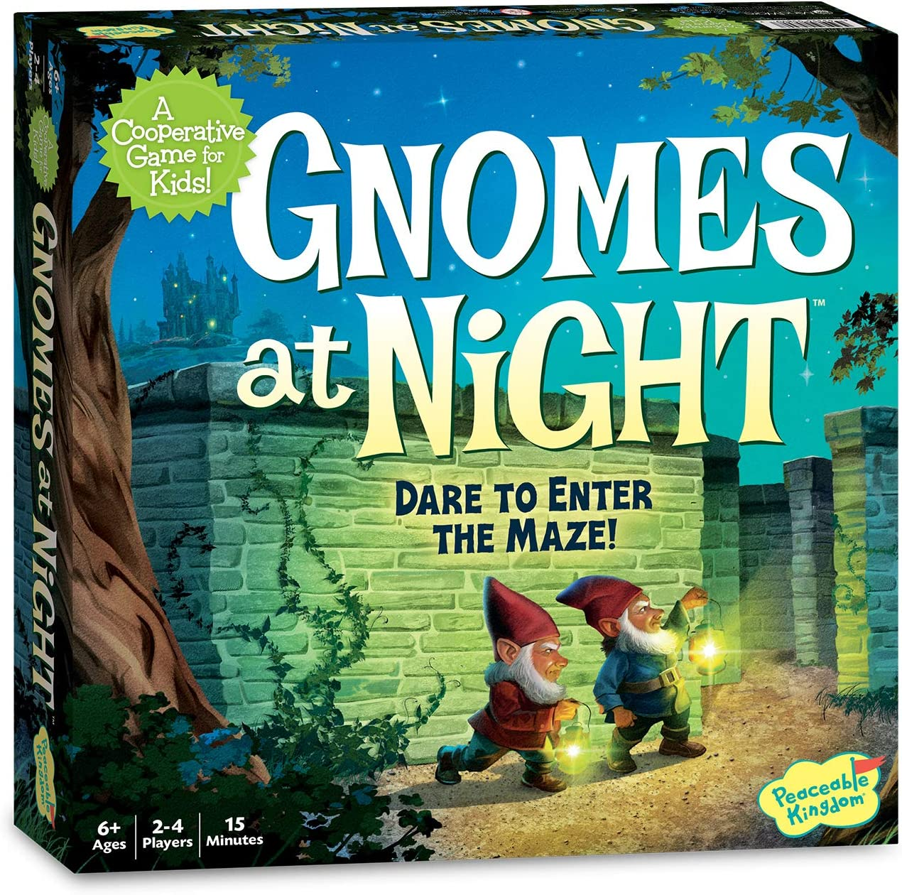 Best Card and board games for 6 year olds featured by top Seattle lifestyle blogger, Marcie in Mommyland; Gnomes at Night