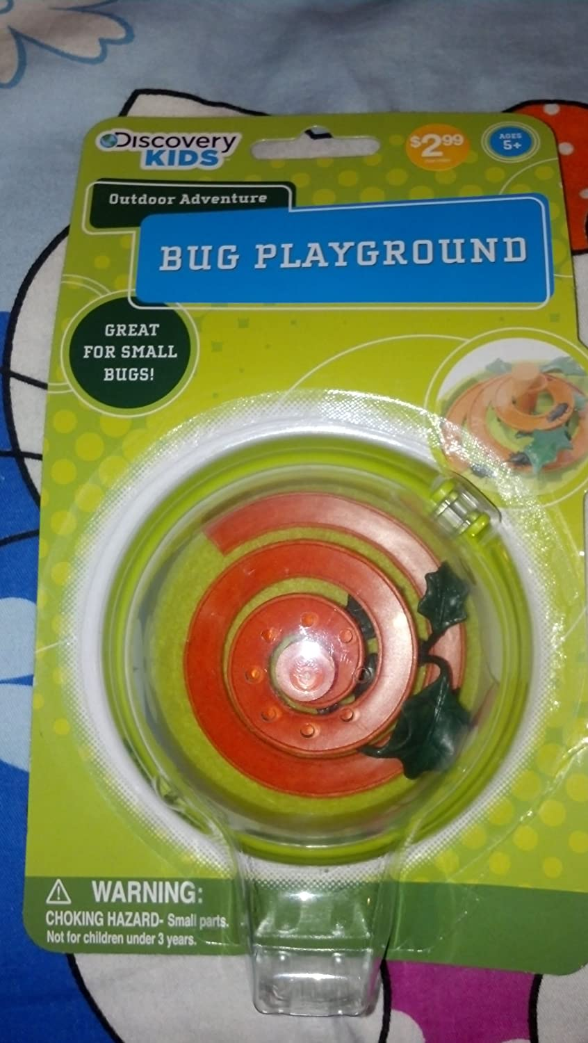 DISCOVERY KIDS OUTDOOE ADVENTURE BUG PLAYGROUND GREAT FOR SMALL BUGS by Discovery