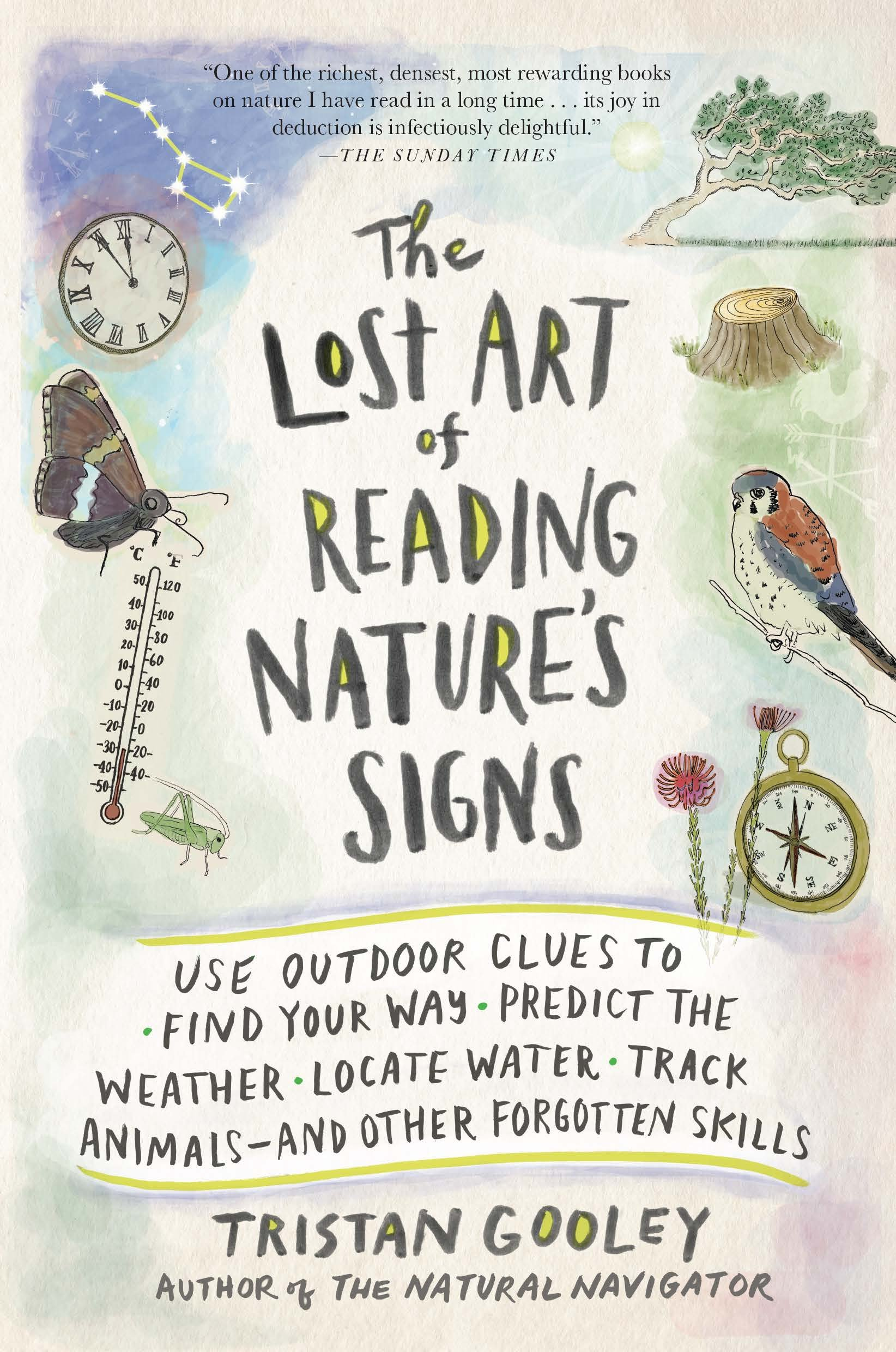 Lost Art Reading Natures Signs product image