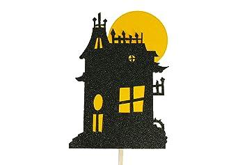 Amazon.com: Decoración para tarta de Halloween con diseño de ...